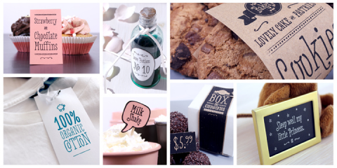 Love Potion No. 10 on stationery and labels